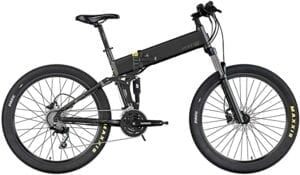 Legend Etna, Electric Mountain Bicycle, Double Suspension, Ion-Lithium Battery